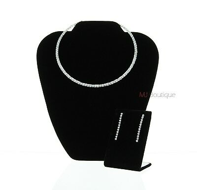 Choker Necklace & Earrings gift Set for her Halloween costume Wedding Birthday
