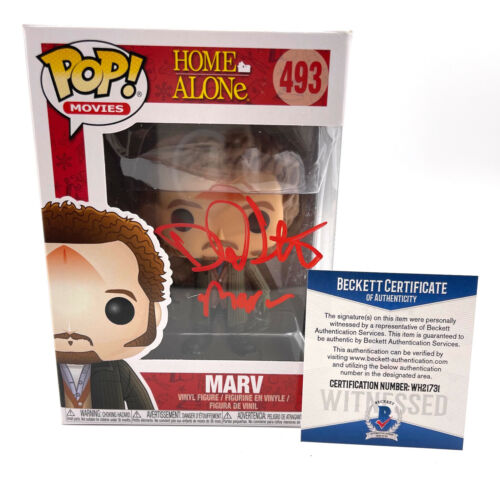 DANIEL STERN SIGNED AUTOGRAPH HOME ALONE FUNKO POP MARV BECKETT BAS 193