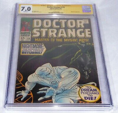 Doctor Strange #170 CGC SS Signature Autograph STAN LEE Nightmare Appearance 🔥