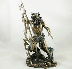 Zeus Statue Ancient Greek Mythology Father Of All Gods