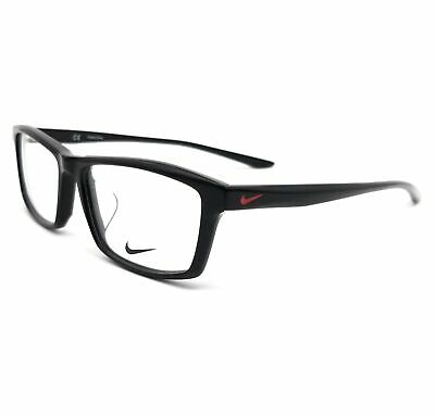 NIKE Eyeglasses 7919AF 006 Black Rectangle Unisex 54x15x140