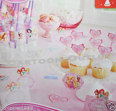 PRINCESS LABELING KIT FOOD DRINK PARTY SUPPLIES BIRTHDAY DECORATION DISNEY DECOR - Disney Princess Party Decor