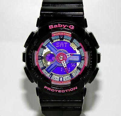 Brand New Casio Baby G BA112-1A Analog Digital With Original Tag