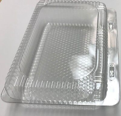 9.5 Take Out Container Sushi Cookie Fruit 50 Clamshel Containers With Lockingm