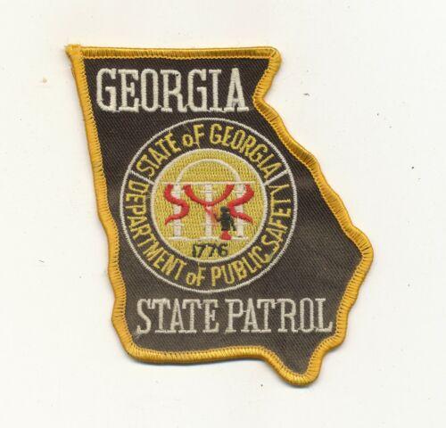 B31 - GEORGIA STATE PATROL POLICE PATCH, Unused