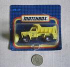 Matchbox Diecast Dump Trucks