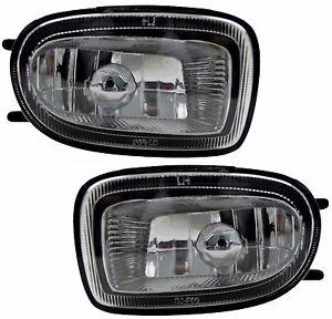 Pair Fog Lights Nissan Pulsar 05/00-09/02 New Sedan/Hatchback N16 01 Spot Lamps