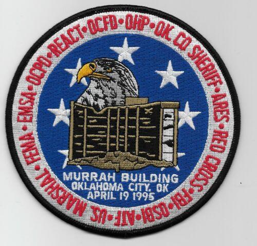 ATF FBI US Marshal Murrah Bldg Task Force Police Sheriff State Oklahoma OK