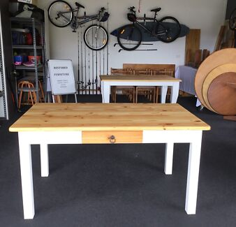 white dining table in Cooma Region, NSW | Dining Tables | Gumtree ...