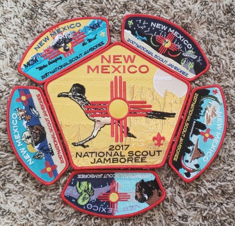 Boy Scout Conquistador & Great Southwest Council 2017 National Jamboree JSP Set