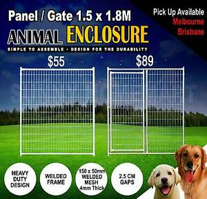 HEAVY DUTY welded animal enclosure panel dog run kennel $49+GST Darra Brisbane South West Preview