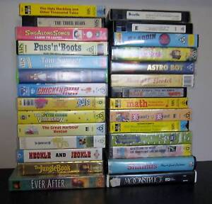 BULK LOT ~  28 VIDEOS CHILDREN AND FAMILY All Working #1 ~ PICK U Perth Region Preview