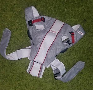 Baby Bjorn baby Carrier Air White Grey (up to 10 kgs) Tugun Gold Coast South Preview