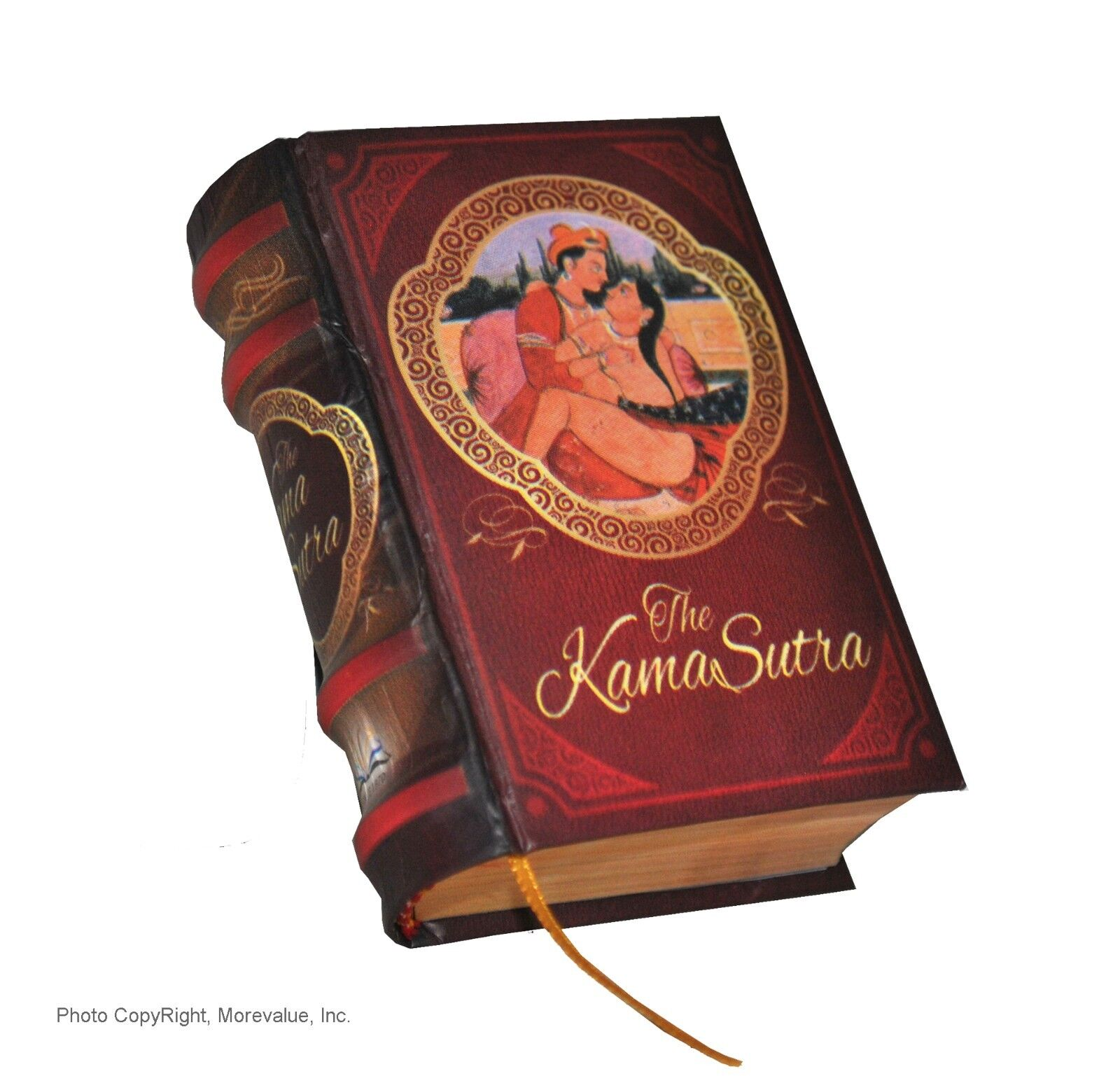 "new little miniature book 2.5"" The Kama Sutra illustrated color 439 pg Hardcover"