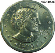 1979 Susan B Anthony Dollar Wide Rim