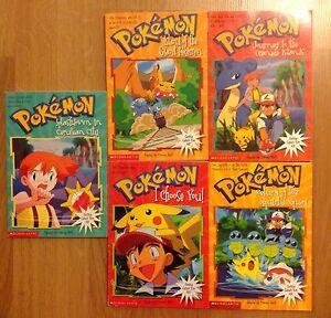 Set of 5 collectable Pokémon books Craigmore Playford Area Preview
