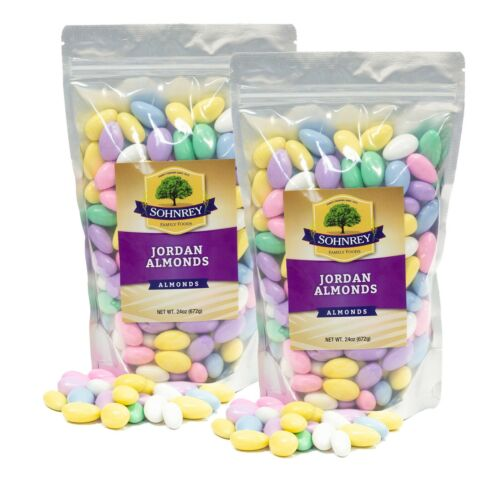 3 lbs - 6 lbs Pastel Jordan Almonds Wedding Shower Easter Party Favor Candy