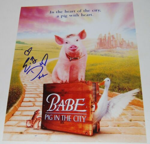 ELIZABETH DAILY signed (BABE PIG IN THE CITY) Movie poster 11x14 photo W/COA