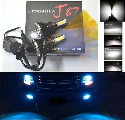 LED Kit G5 80W 9005 HB3 10000K Blue Two Bulbs Light DRL Daytime Replacement Lamp