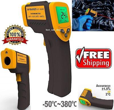 Non Contact Temperature Gun Digital Temp Meter Infrared Ir Laser Thermometer