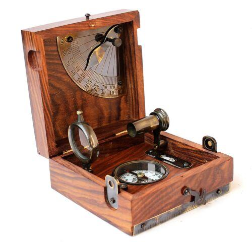 Antique Marine Master Six nautical Instrument Vintage Collectible Navigation
