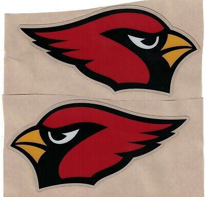 ARIZONA CARDINALS FULL SIZE FOOTBALL HELMET DECALS (Arizona Cardinals Football Helmet)