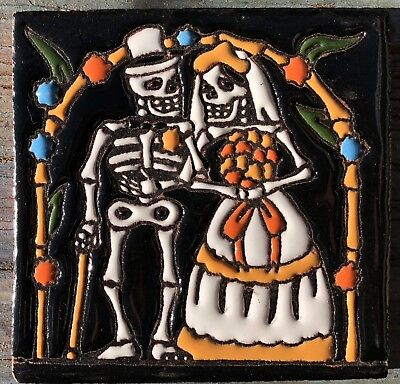 1 Talavera Day of the Dead Tile 4