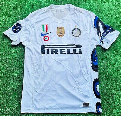⚫Maglia Inter Nike 2010 2011 Eto 9 L Triplete serie A Champions...