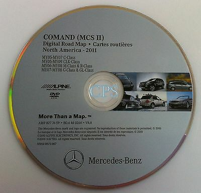 2006 2007 2008 Mercedes R R320 CDI R350 R500 R63 Navigation DVD 0264 Update 2011