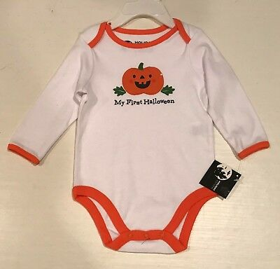 Holiday Editions Newborn Girl's My First Halloween Outfit 3-6M NEW 3 6 Months (Newborn Girl Halloween Costumes)