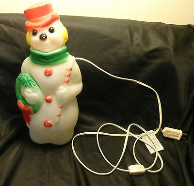 "1968 Empire Snowman 12"" Blow Mold made in USA"