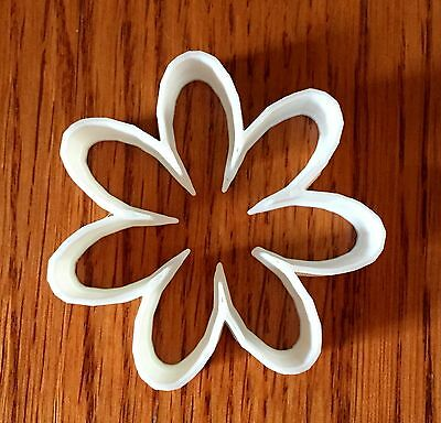 7 Petal Flower cookie and fondant cutter - US - Flower Cookies
