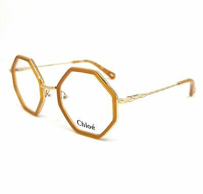 CHLOE Eyeglasses CE2142 829 Mustard Square Women 50x22x140