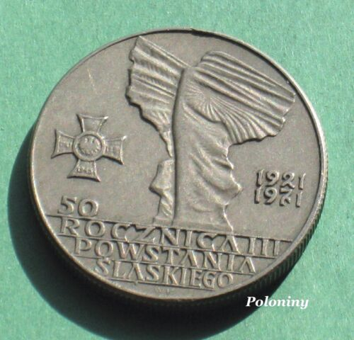 OLD COIN OF POLAND - ANNIVERSARY OF THE SILESIA UPRISING OF 1921