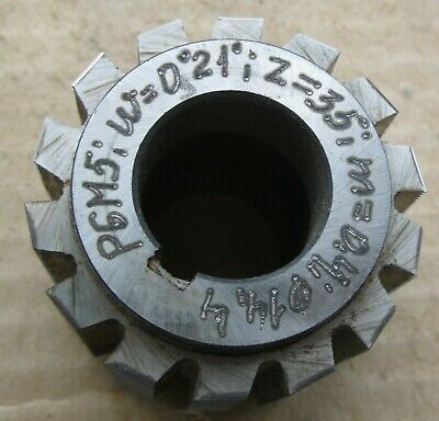 Gear Hob Cutter Module M 04 20 Hss M2 .