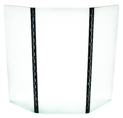Polycarbonate Safety Shield For Science Experiments - 3 Panel - Eisco Labs