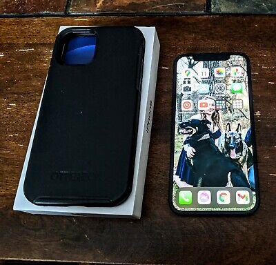 Apple iPhone 12 - 64GB - Black (Unlocked) and Otterbox Symmetry