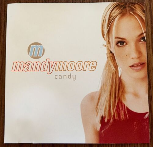 MINT CONDITION Mandy Moore US CANDY DJ CD Sony Promo Single 1 Tk Radio BSK 42548