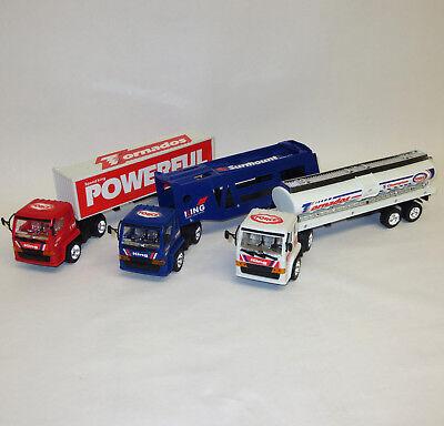 Truck Set Laster Transporter Kinder Spielzeug Auto Sattelschlepper Auflieger LKW Auto Schlepper Spielzeug
