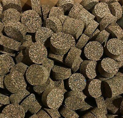 "Cork Rings 36 Light Gray Brown  Burl 1 1//4/"" x 1//2/"" x 1//4/"" Hole"