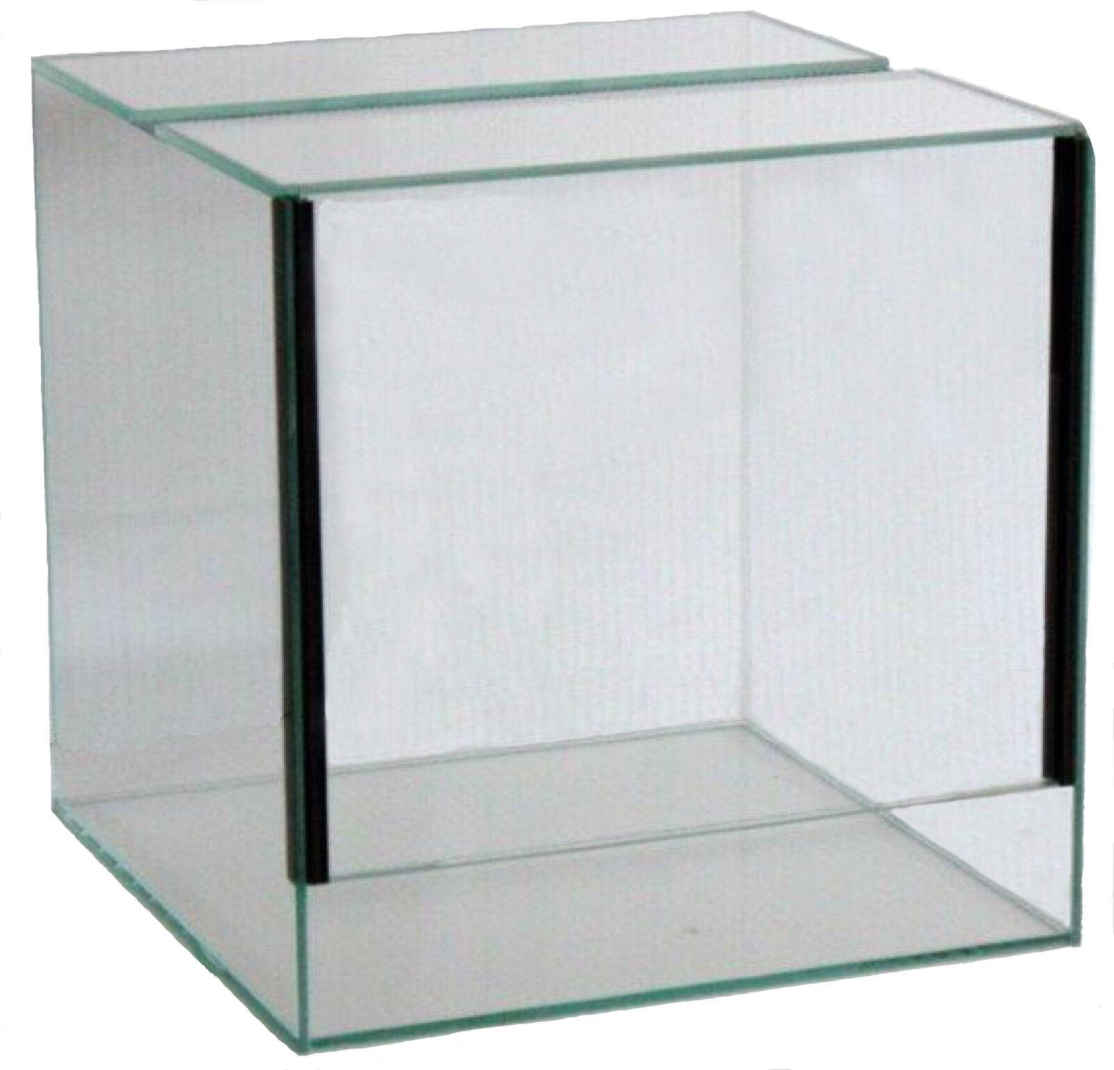 Glas Terrarium Schiebetür Falltür Glasterrarium Reptilien Spinnen viele Größen