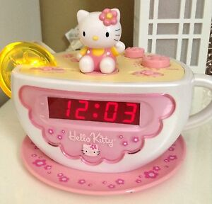 Hello Kitty AM/FM Alarm Clock Radio w/ Nightlight - PLEASE CALL