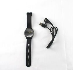 Garmin Vivomove HR Hybrid Smartwatch Sport Black W/Charging Cable -JEM3225