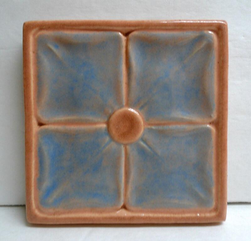 California Art Tile Co. Vintage Tile-Floral
