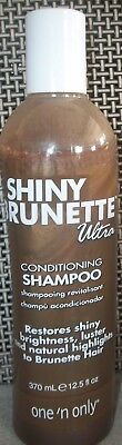 Ultra Conditioning Shampoo (One 'N Only Shiny Brunette Ultra Conditioning Shampoo Revitalizing Hair Lot of 2)