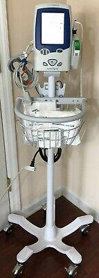 Welch Allyn Lxi Spot 45 Nt0mt0 Vital Signs Monitor Nibp Bp Spo2 Temp Stand