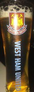West Ham Utd FC - Peroni Style Pint Glass ⚒⚒⚒ Christmas / Birthday Gift