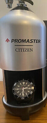 CITIZEN Promaster Diver Eco-Drive Black Dial Stainless Men's Watch BN0195-54E