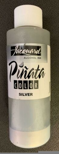 Pinata Silver Alcohol Ink That by Jacquard, Professional and Versatile Ink