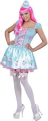 Sexy Candy Girl Popstar Kostüm NEU - Damen Karneval Fasching Verkleidung Kostüm